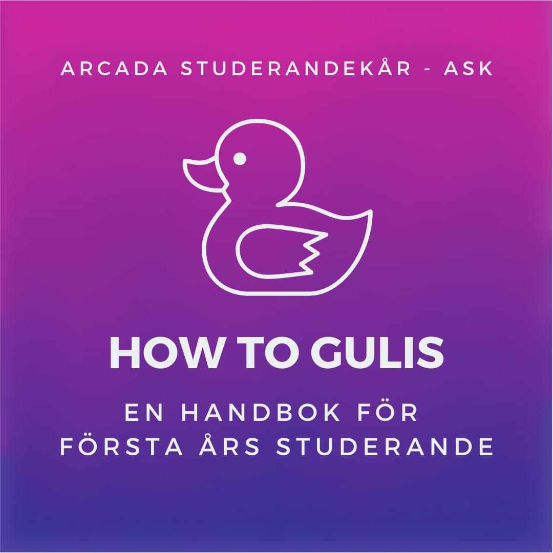 How to gulis - En handbok för första års studerande